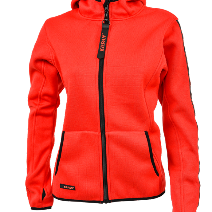 Damen Strickfleece Jacke KRPAN