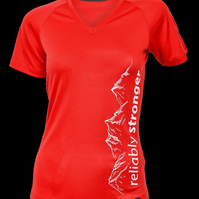 Women's Short Sleeve Training Top MOUNTAIN