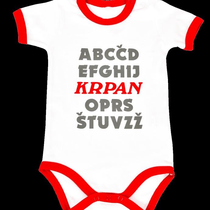 Baby body ALPHABET