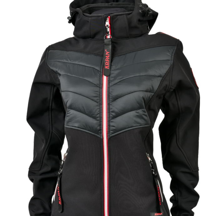 Women's Padded Softshell Jacket KRPAN