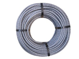 Wire rope 8 mm, swaged cross-section, 1960 N/mm