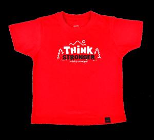 Kids T-Shirt THINK STRONGER