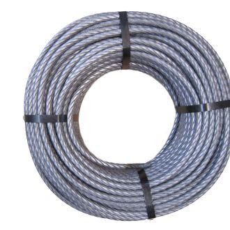 Câble métallique 8 mm, laminé, 1960 N/mm2