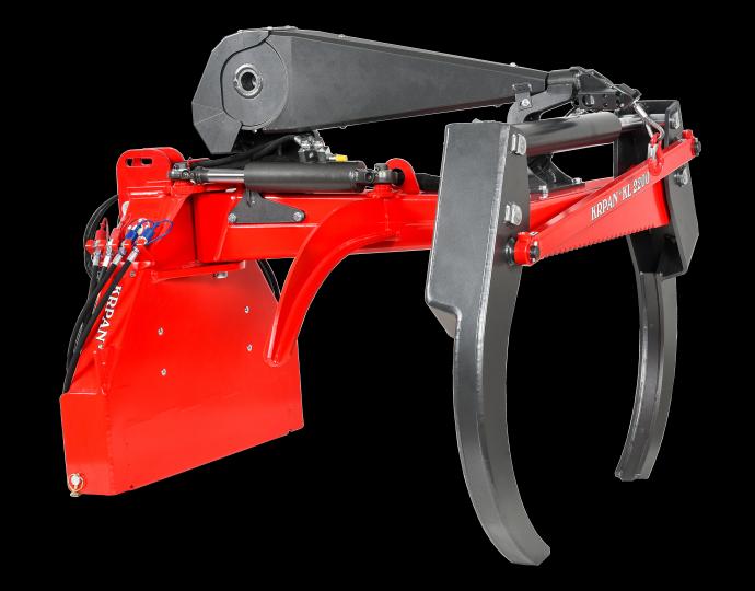 Garras para madeira flexível KL2200 com equipamento