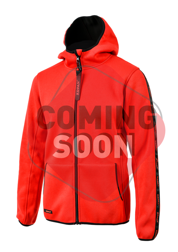 Men`s Knitted Fleece Jacket KRPAN