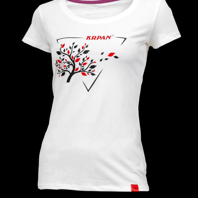 Ženska bela majica TREE