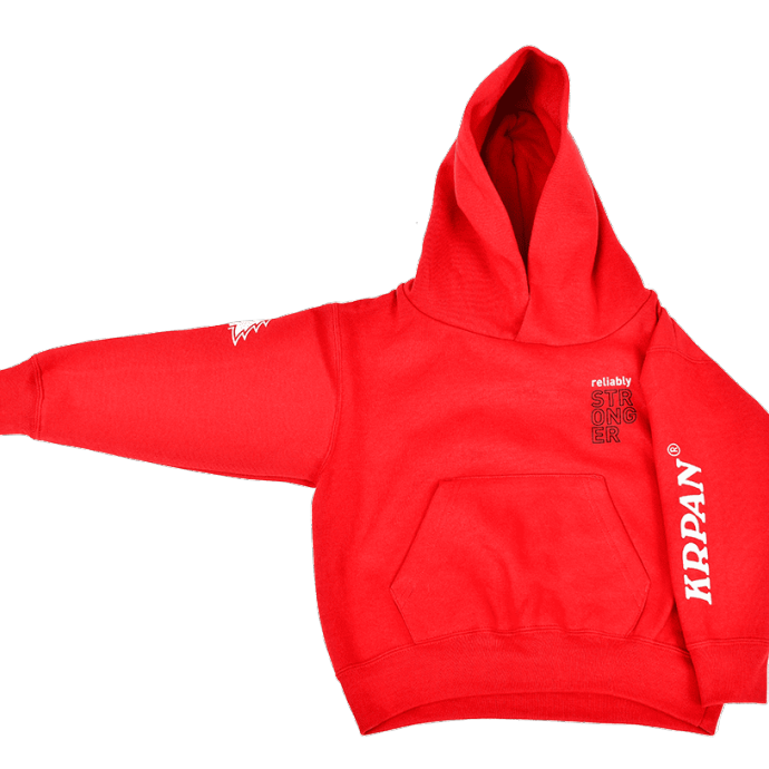Kids Hoodie RELIABLY STRONGER