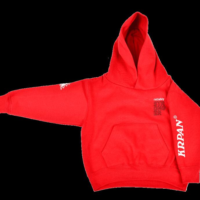 Otroški hoodie RELIABLY STRONGER