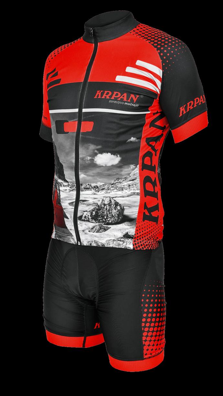 Moški kolesarski dres KRPAN