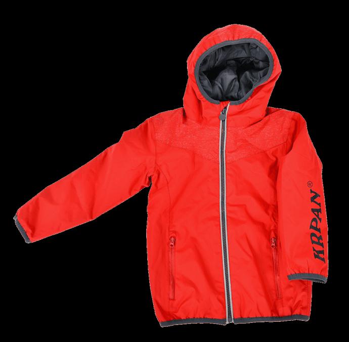 Red Kids Puffer Jacket KRPAN